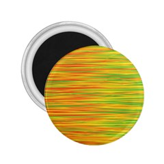 Green and oragne 2.25  Magnets