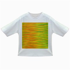Green and oragne Infant/Toddler T-Shirts