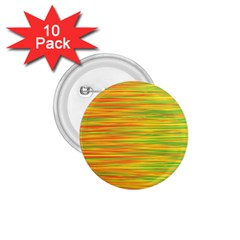 Green and oragne 1.75  Buttons (10 pack)