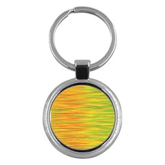 Green and oragne Key Chains (Round)