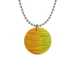 Green and oragne Button Necklaces