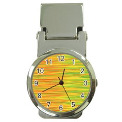 Green And Oragne Money Clip Watches