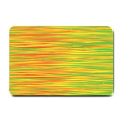 Green and oragne Small Doormat