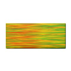 Green and oragne Hand Towel