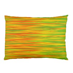 Green and oragne Pillow Case