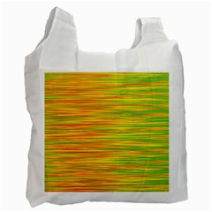Green and oragne Recycle Bag (Two Side)
