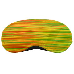Green and oragne Sleeping Masks