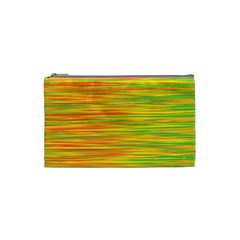 Green and oragne Cosmetic Bag (Small)
