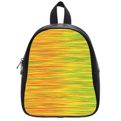 Green and oragne School Bags (Small)