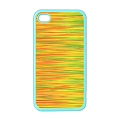 Green and oragne Apple iPhone 4 Case (Color)