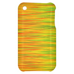 Green and oragne Apple iPhone 3G/3GS Hardshell Case