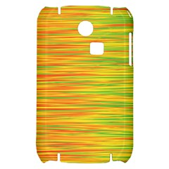 Green and oragne Samsung S3350 Hardshell Case
