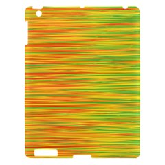 Green and oragne Apple iPad 3/4 Hardshell Case