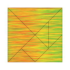 Green and oragne Acrylic Tangram Puzzle (6  x 6 )