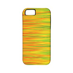 Green and oragne Apple iPhone 5 Classic Hardshell Case (PC+Silicone)