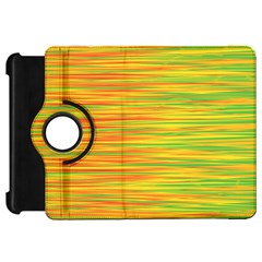 Green and oragne Kindle Fire HD Flip 360 Case