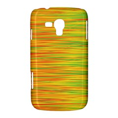 Green and oragne Samsung Galaxy Duos I8262 Hardshell Case
