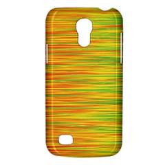 Green and oragne Galaxy S4 Mini