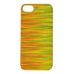 Green and oragne Apple iPhone 5S/ SE Hardshell Case