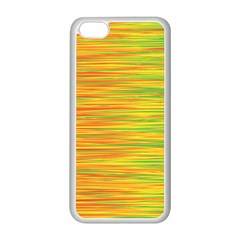 Green and oragne Apple iPhone 5C Seamless Case (White)