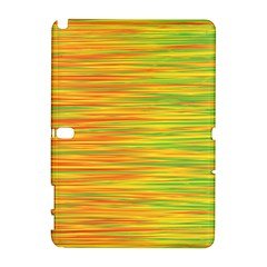 Green and oragne Samsung Galaxy Note 10.1 (P600) Hardshell Case