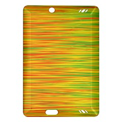 Green and oragne Amazon Kindle Fire HD (2013) Hardshell Case