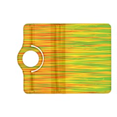 Green and oragne Kindle Fire HD (2013) Flip 360 Case