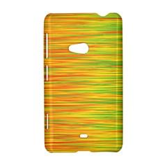 Green and oragne Nokia Lumia 625