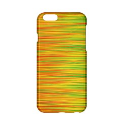 Green and oragne Apple iPhone 6/6S Hardshell Case