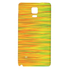 Green and oragne Galaxy Note 4 Back Case