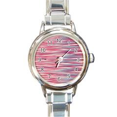 Gentle design Round Italian Charm Watch