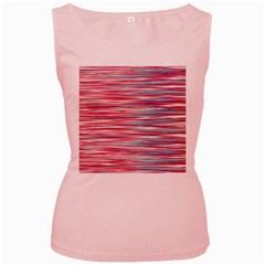 Gentle design Women s Pink Tank Top