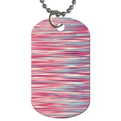 Gentle design Dog Tag (Two Sides)