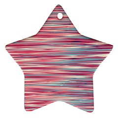 Gentle design Star Ornament (Two Sides)
