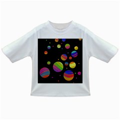 Colorful galaxy Infant/Toddler T-Shirts