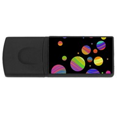 Colorful galaxy USB Flash Drive Rectangular (2 GB)