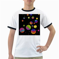 Colorful galaxy Ringer T-Shirts