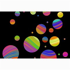 Colorful galaxy Collage Prints