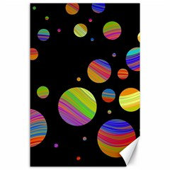 Colorful galaxy Canvas 24  x 36