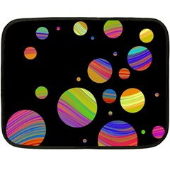 Colorful galaxy Double Sided Fleece Blanket (Mini)