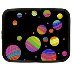 Colorful galaxy Netbook Case (XL)