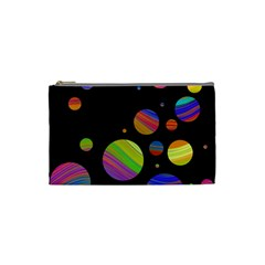 Colorful galaxy Cosmetic Bag (Small)