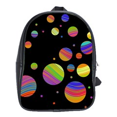 Colorful galaxy School Bags(Large)
