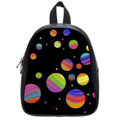 Colorful galaxy School Bags (Small)