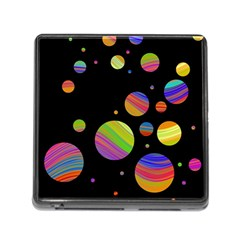 Colorful galaxy Memory Card Reader (Square)