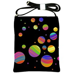 Colorful galaxy Shoulder Sling Bags