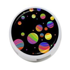 Colorful galaxy 4-Port USB Hub (One Side)