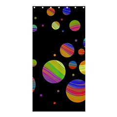 Colorful galaxy Shower Curtain 36  x 72  (Stall)