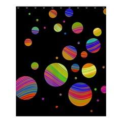 Colorful galaxy Shower Curtain 60  x 72  (Medium)