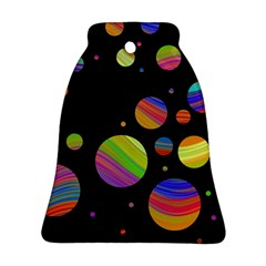 Colorful galaxy Ornament (Bell)